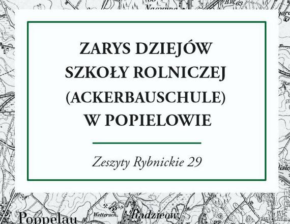 Okładka Zeszytów Rybnickich 29