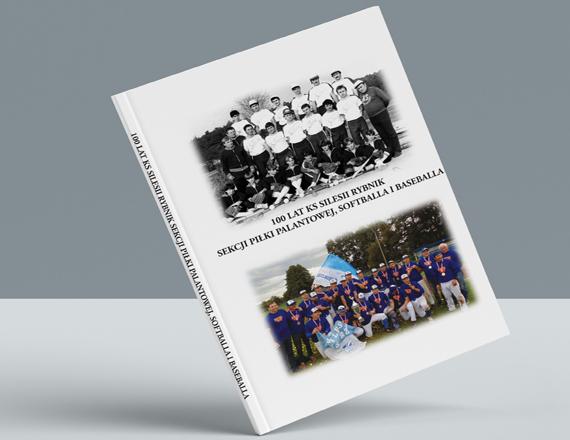 Okładka książki 100 lat baseballa